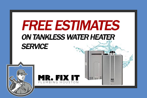 Coupons - Free Estimates on Tankless Water Heater Service
